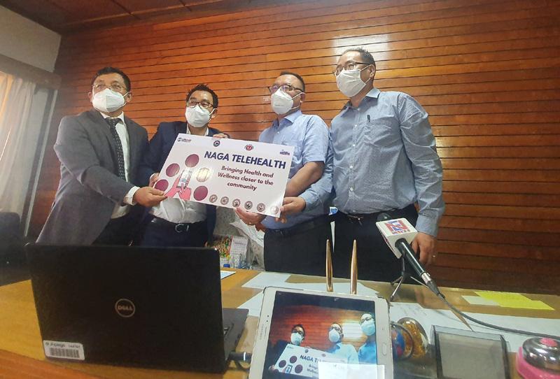 Nagaland health department launches Naga Telehealth