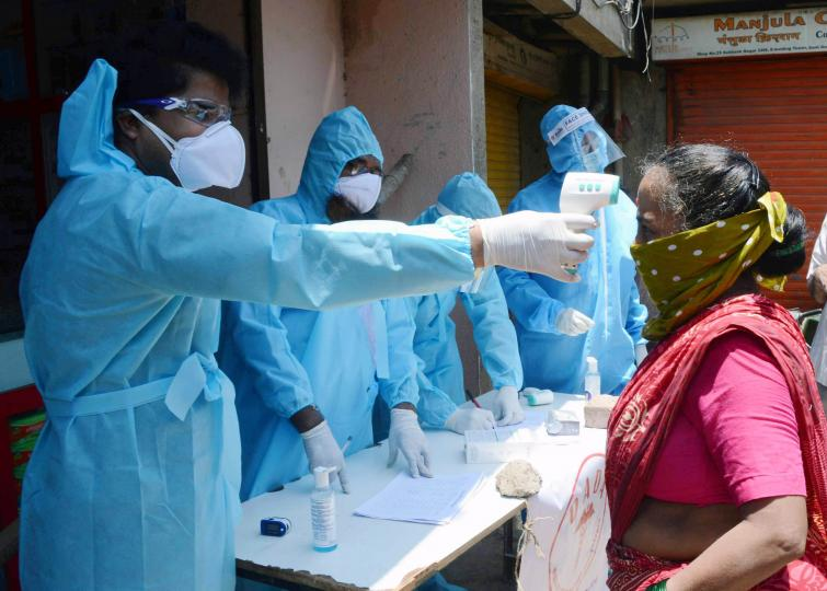 India registers highest single-day spike with 7466 new COVID-19 cases, death toll touches 4706