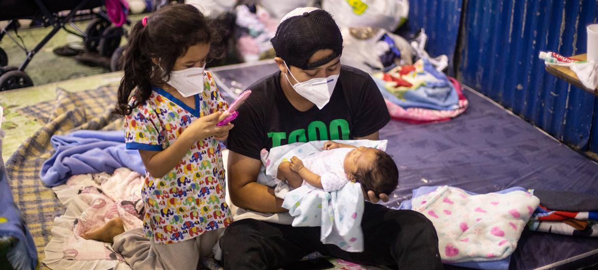 Storms, coronavirus pose 'double threat' for children in Central America and Caribbean – UNICEF
