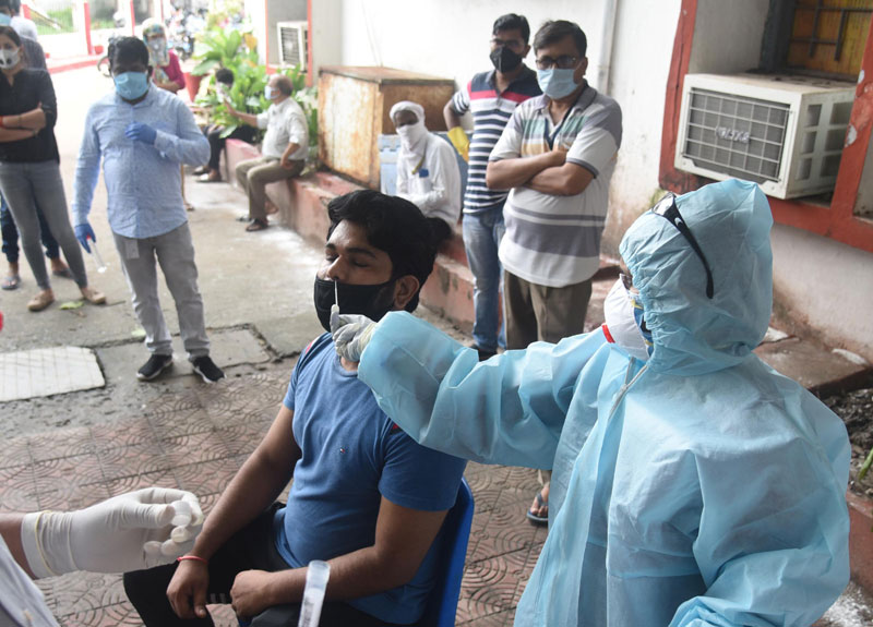 India records 27,071 COVID-19 cases in past24 hours, 336 deaths