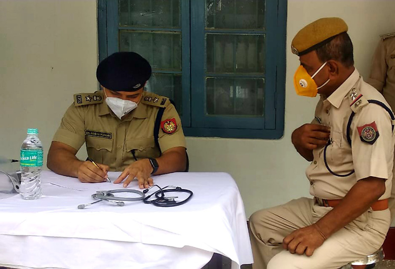 Assam : Doctor-turned-cop runs COVID-19 care centre for his colleagues
