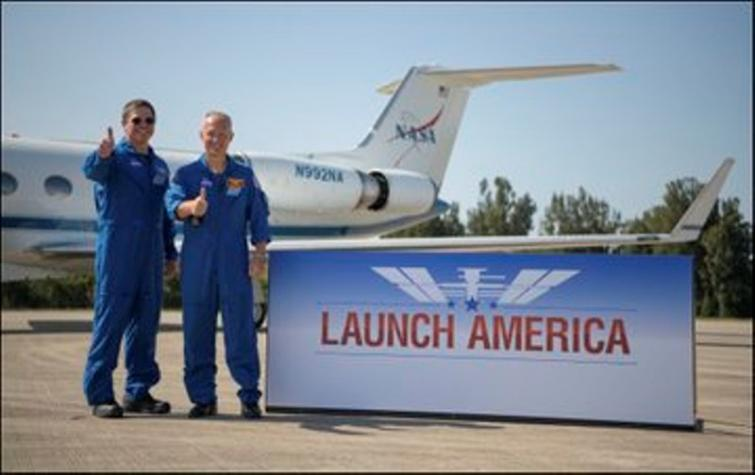 SpaceX-Nasa Mission: Astronauts on historic mission enter space station