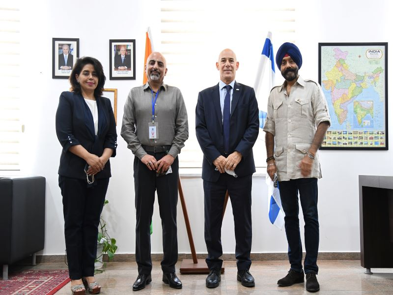 Israel pledges support for cancer awareness in India