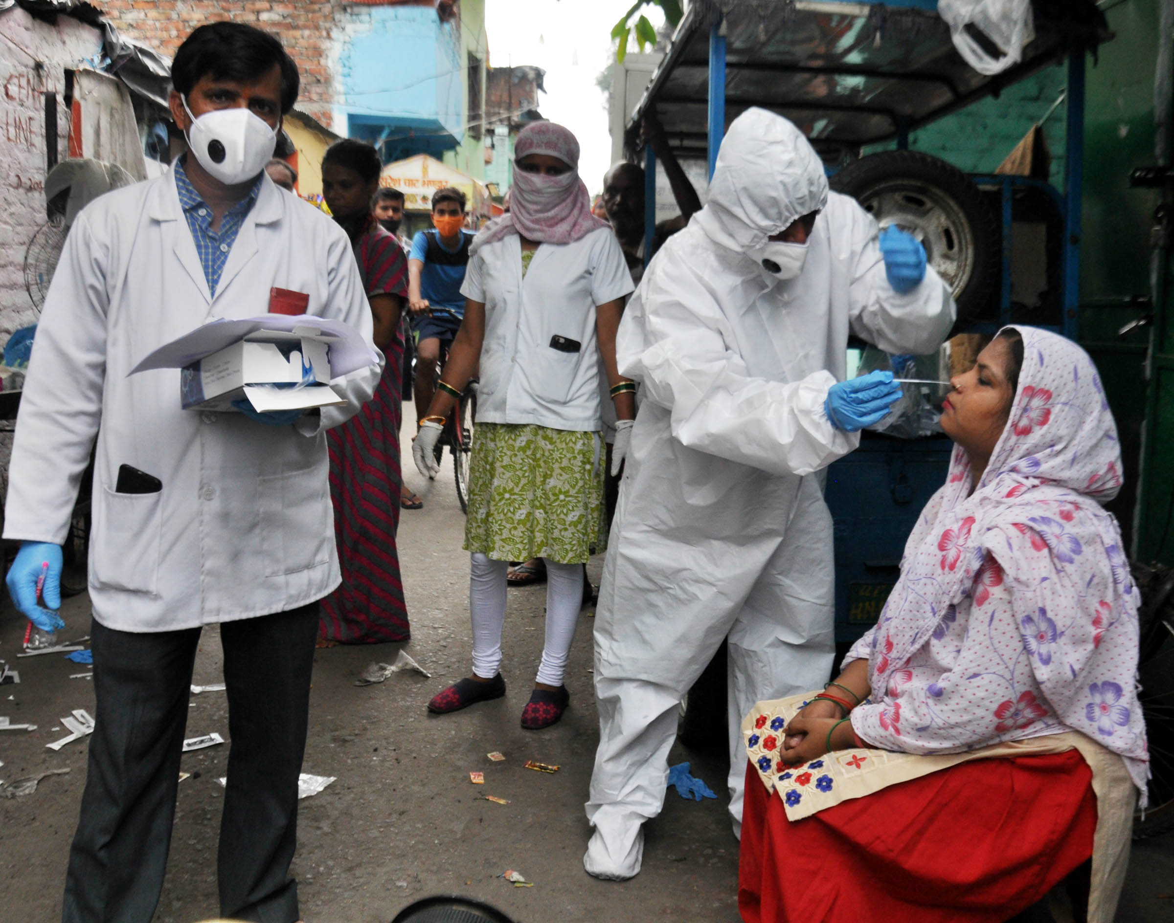 India reports over 60,000 Covid-19 cases in 24 hours, tally crosses 2.32 million