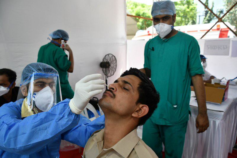 India reports 36,470 Covid-19 cases, tally nears 80-lakh mark