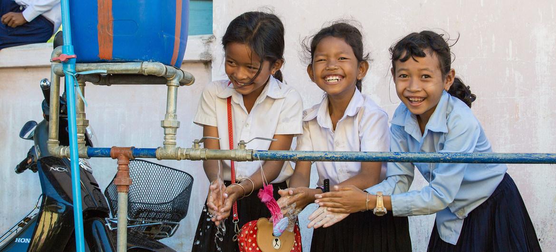Coronavirus and schools: Access to handwashing facilities key for safe reopening