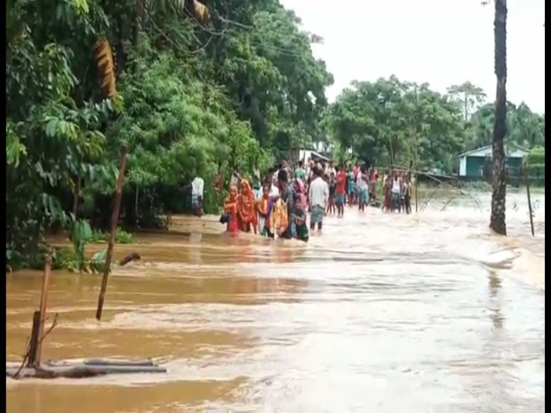 Assam flood: Nearly 3.20 lakh people of 13 district affect