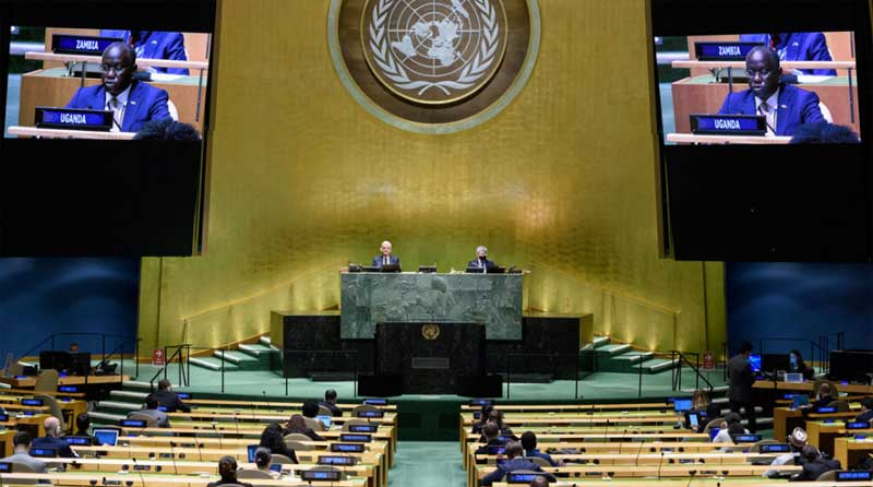 At UN, Uganda highlights COVID-19 response, commitment to sustainable development