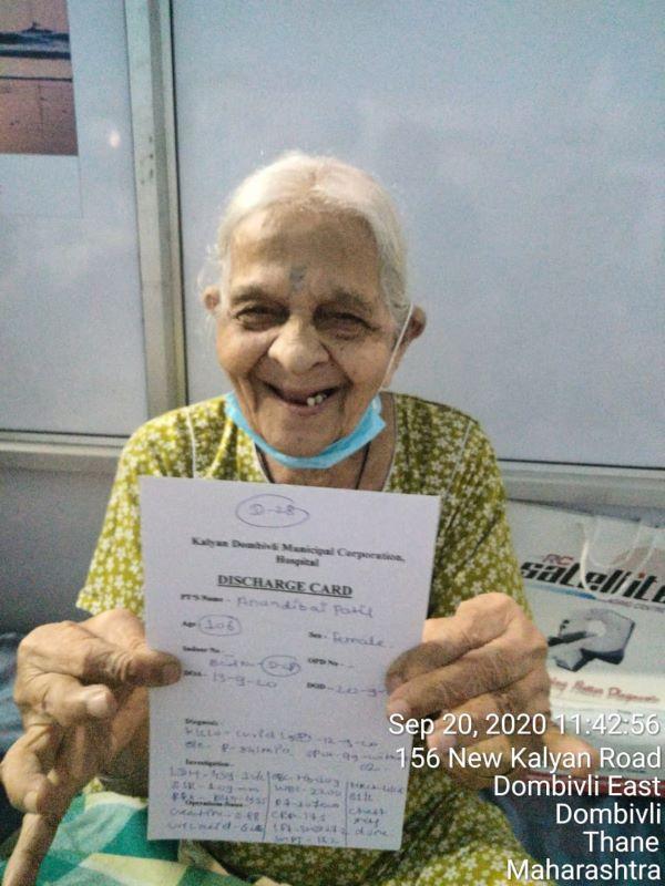 106-yr-old woman beats coronavirus in Maharashtra