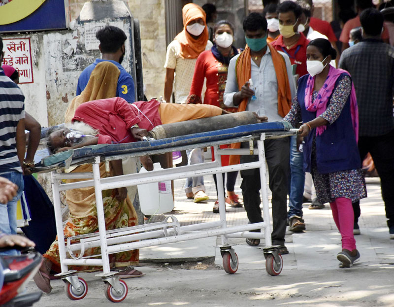 India records 4329 new COVID-19 deaths in past 24 hours