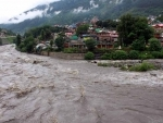 Jammu and Kashmir: Residential house, mosque damaged in flash flood in Bandipora