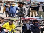Jammu and Kashmir: Drive against COVID-19 guidelines' violators launched in Bandipora