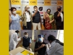 CK Birla Hospitals, Kolkata- CMRI & BMB administers Covishield to health workers