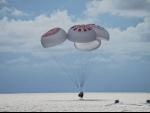 Inspiration4 all-civilian crew makes splashdown off Florida coast: SpaceX