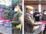 Jammu and Kashmir: COVID19 safety kits distributed among needy families in Ganderbal