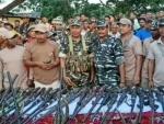 Assam: 57 poachers surrender along with arms in Kokrajhar