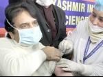 Jammu and Kashmir: Director SKIMS takes first shot