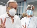 UN chief receives COVID-19 vaccine in New York