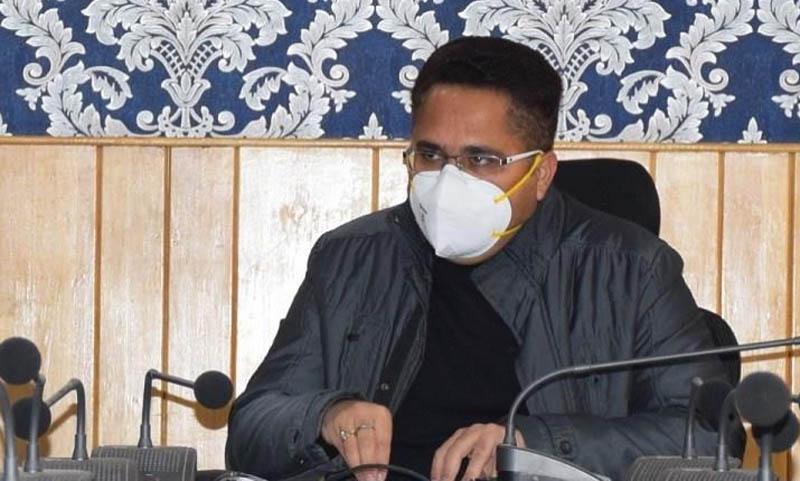 Jammu and Kashmir: DC Anantnag visits COVID19 vaccination registration sites