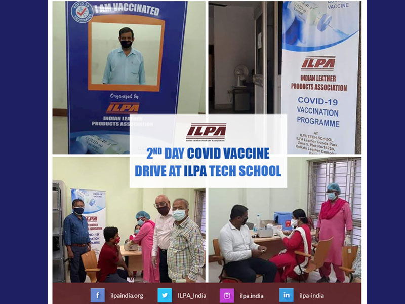 ILPA conducts vaccination drive for leather industry workers in Kolkata