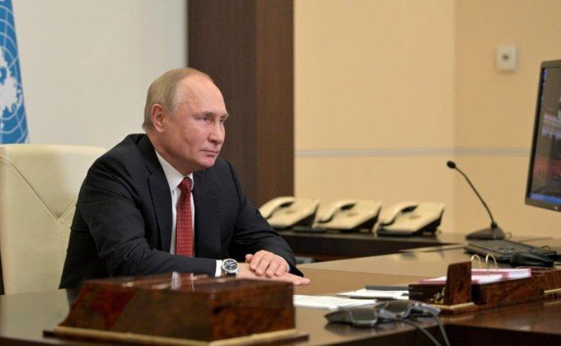 Vladimir Putin calls for closer global cooperation on conserving biodiversity