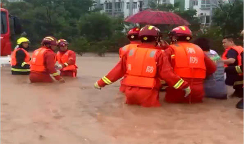 China: Heavy floods kill 302 in Henan province, 50 others missing