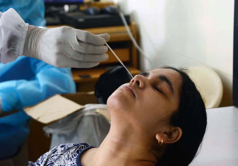 India reports over 10,000 Covid-19 infections amid spike in positive cases