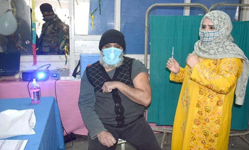 Jammu and Kashmir: COVID19 vaccination drive launched