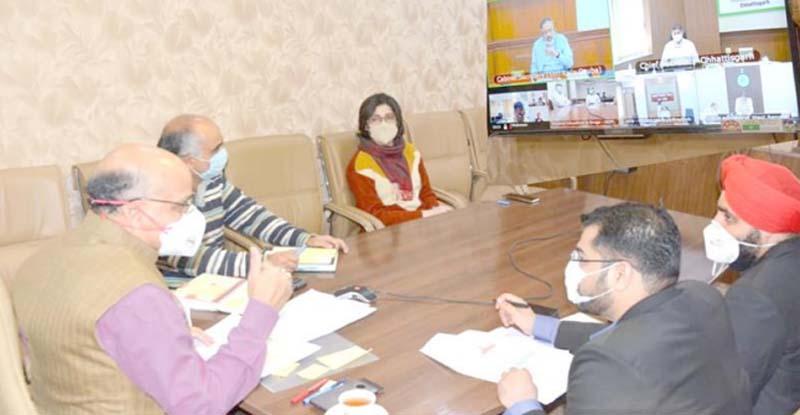 Jammu and Kashmir: Cabinet Secretary reviews COVID19 situation