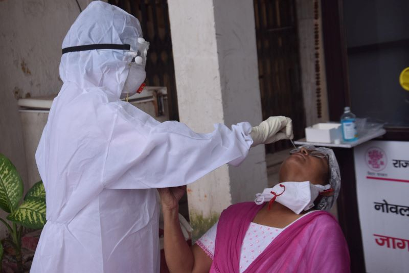 India reports over 12,000 Covid-19 cases, 101 deaths in 24 hours