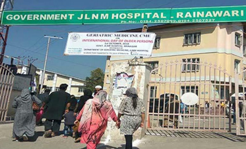 JLNM hospital in Jammu and Kashmir to augment oxygen generation capacity by 1000 LPM : DHSK