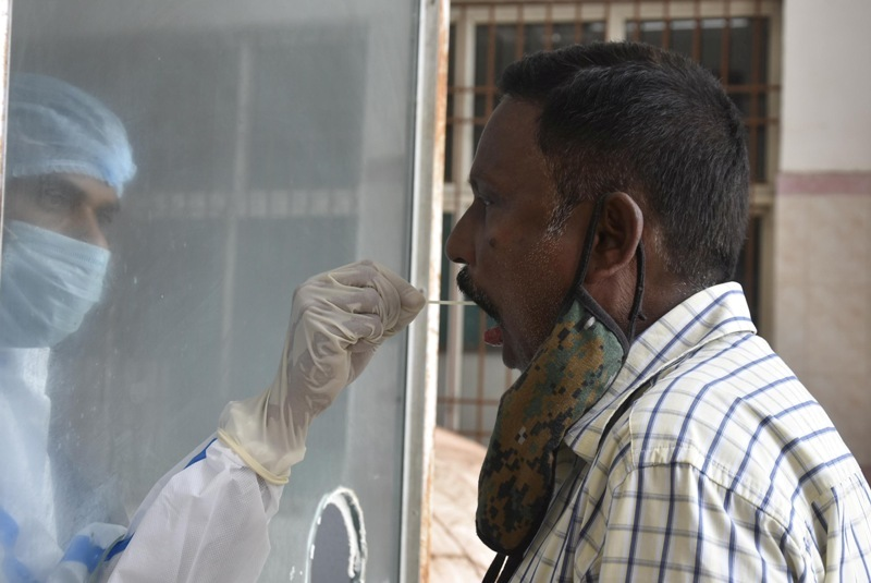 India once again witnesses a spike as 43,654 new Covid-19 cases registered in past 24 hours