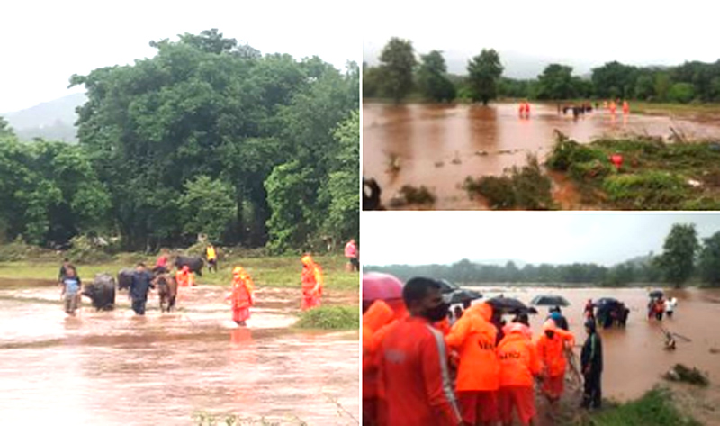 36 people killed, thousands trapped in landslides in Maharashtra