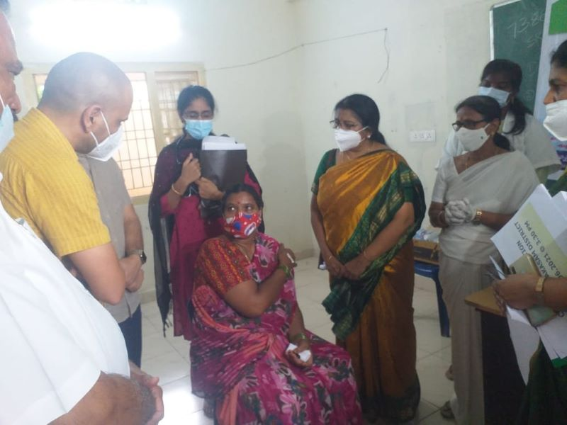 Covid19: Andhra Pradesh sets record by vaccinating over 1.3 million people in a single day