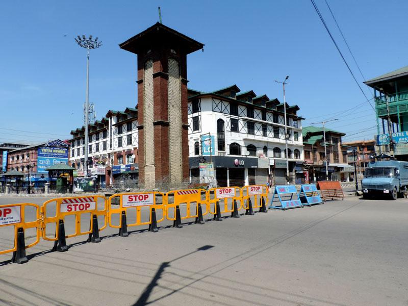 Jammu and Kashmir: First of multiple SMC COVID wellness centers getting ready in Srinagar