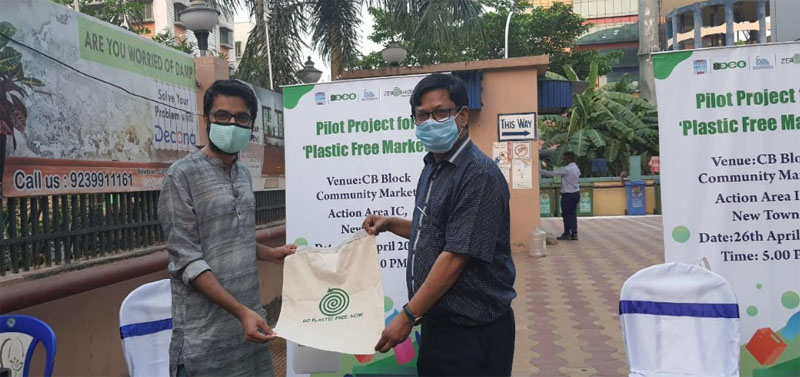 Plastic Free Market Initiative launched in New Town, Kolkata
