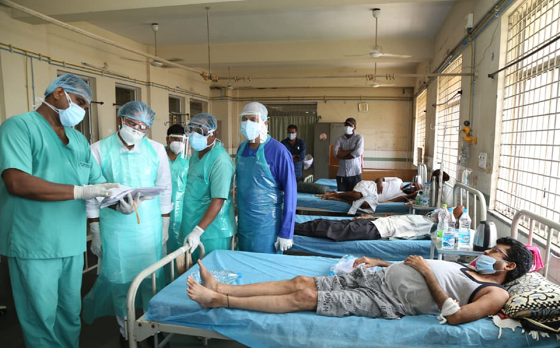 COVID-19: India's daily recoveries more than 4 lakh in the country