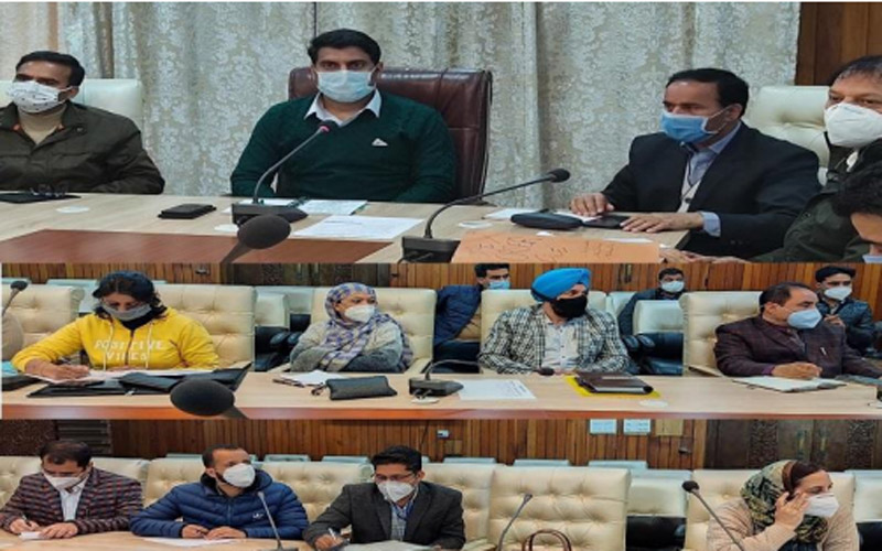 Jammu and Kashmir: COVID19 containment measures reviewed in Srinagar
