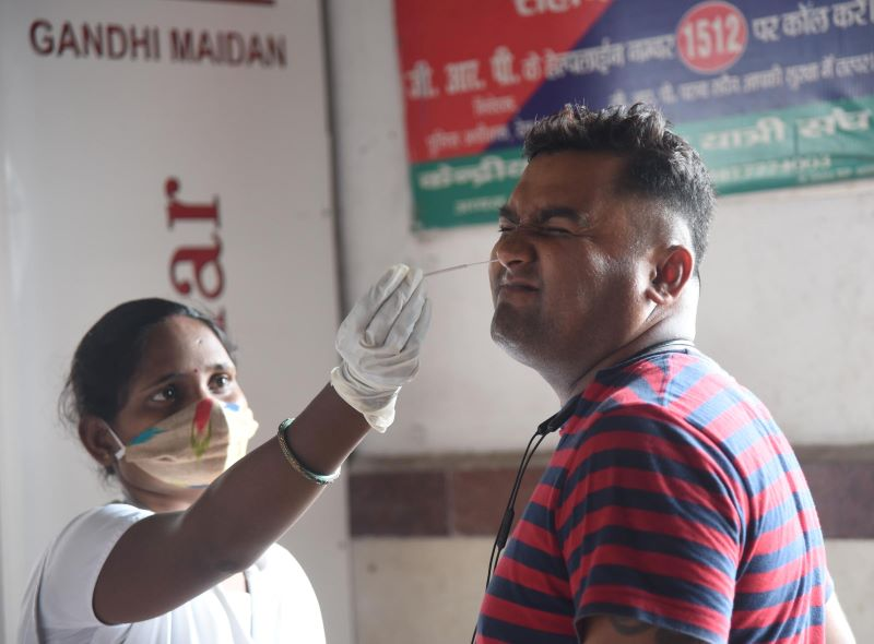 India reports over 41,000 COVID-19 cases, 507 deaths in 24 hours