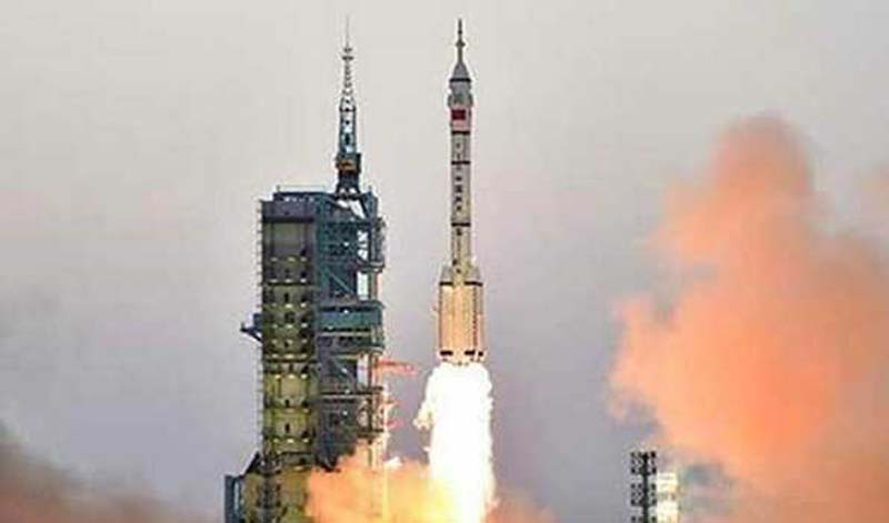Second stage of China's long March 5B rocket might fall into Pacific Ocean on Sunday