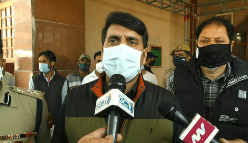 Jammu and Kashmir: DC Srinagar for strict adherence to Covid-19 SOPs