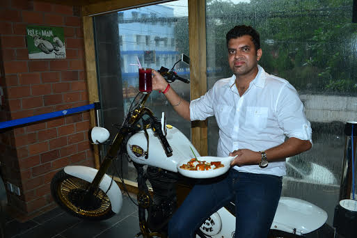 The Biker's Cafe showcases Bikers House Special Menu