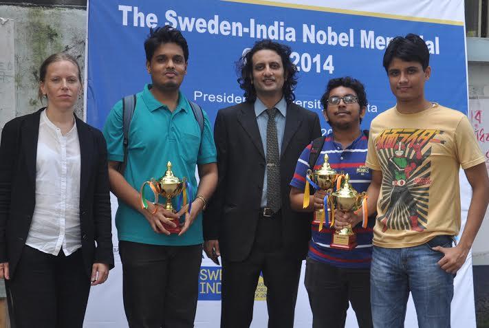 Sweden India Nobel Memorial Quiz 2014! kicked off from Kolkata