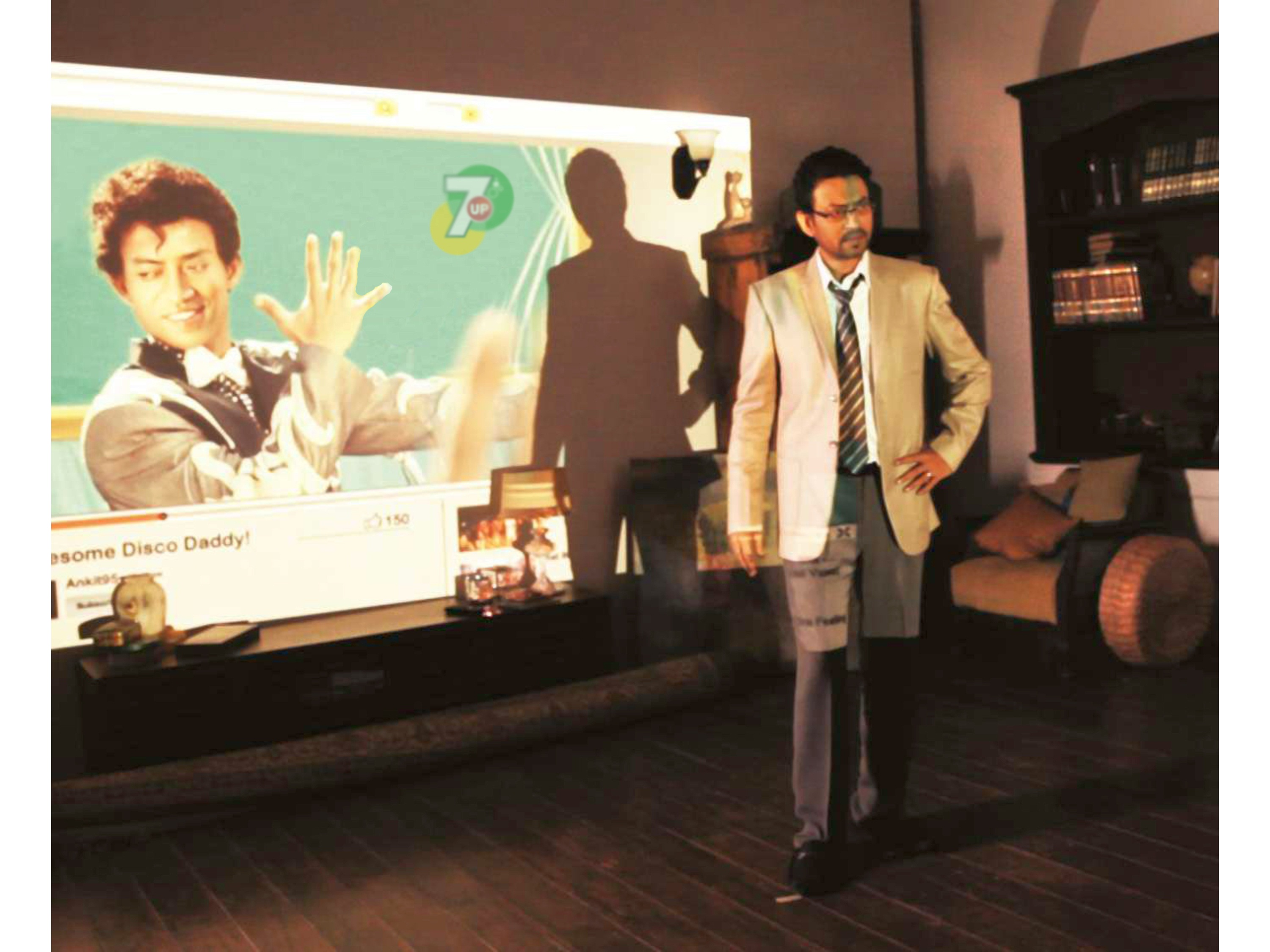 Irrfan dons the dancing avatar for 7UP