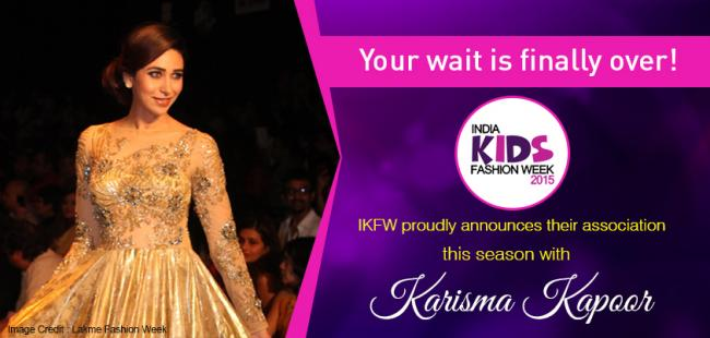 Karisma Kapoor will walk the ramp with kids for India Kids Fashion Week