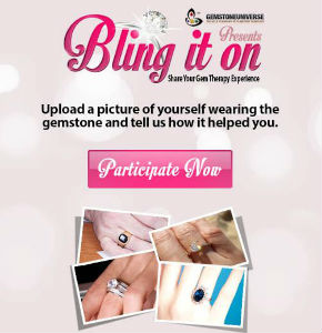 Gemstoneuniverse presents 'Bling it on' contest