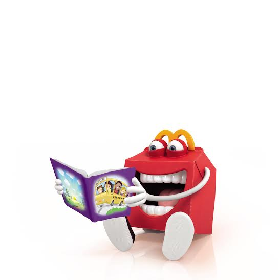 McDonald's launches Happy Meal books