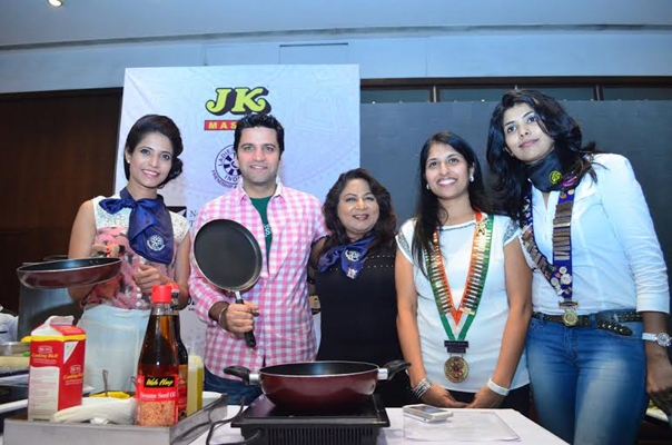 Cookery workshop by chef Kunal
