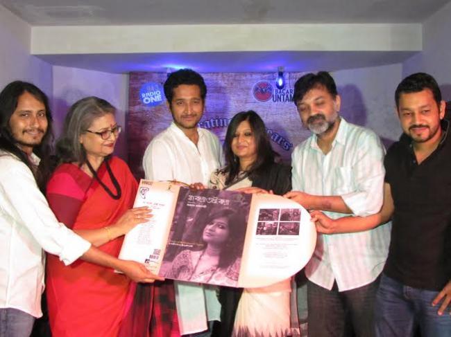 Sahana Bajpaie launches her second Rabindrasangeet album in Kolkata