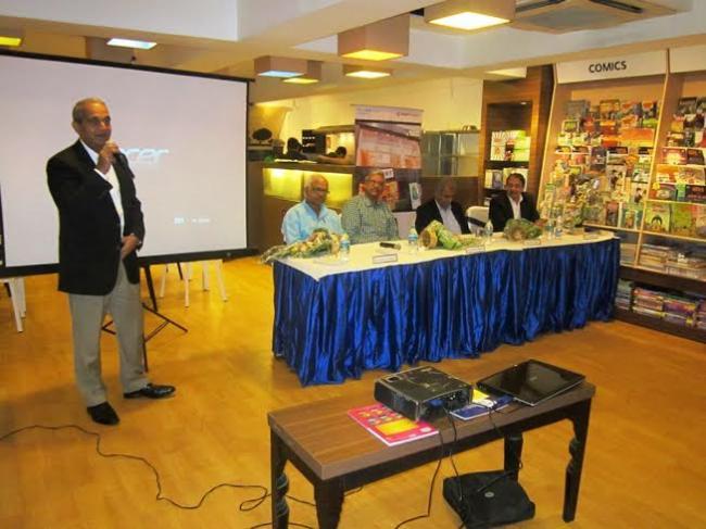 Story launches S Hariharan's debut book 'Runaway Children'